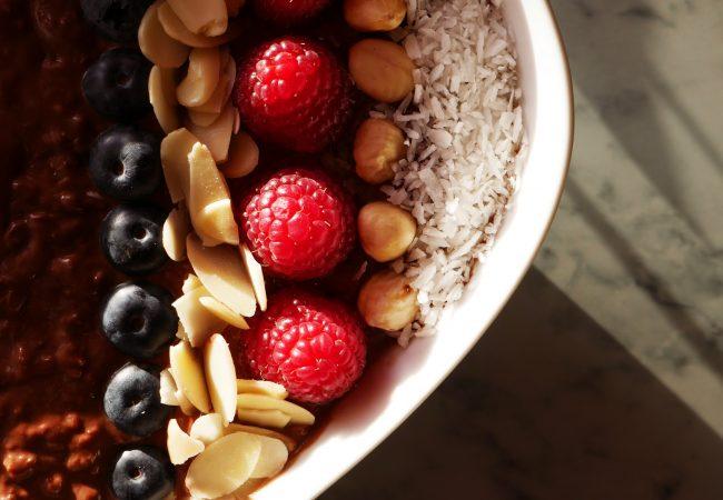 Vegan Cacao Protein Porridge